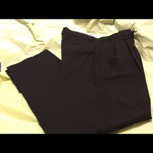 Black Dockers slacks. NWOT. W 36 x L 32